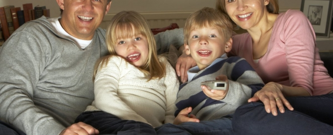 Watching cartoon animations together can be a great bonding experience for the entire family. (flickr)