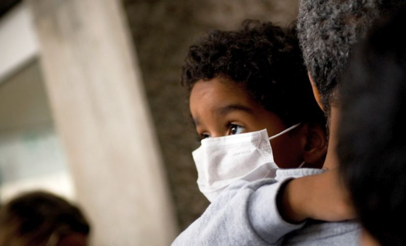 How likely is it that you'll be able to keep your kids from getting a cold completely? (flickr)