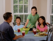 We know that family time can be hard to have these days, because people are just so busy.